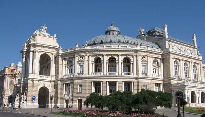 Одесса-оперный театр