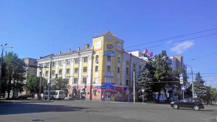 Черкассы - бульвар Тараса Шевченко